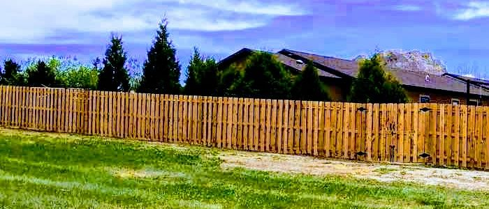 Wood Fence in Wyoming