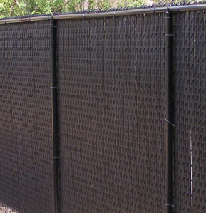 chain link fence for privacy